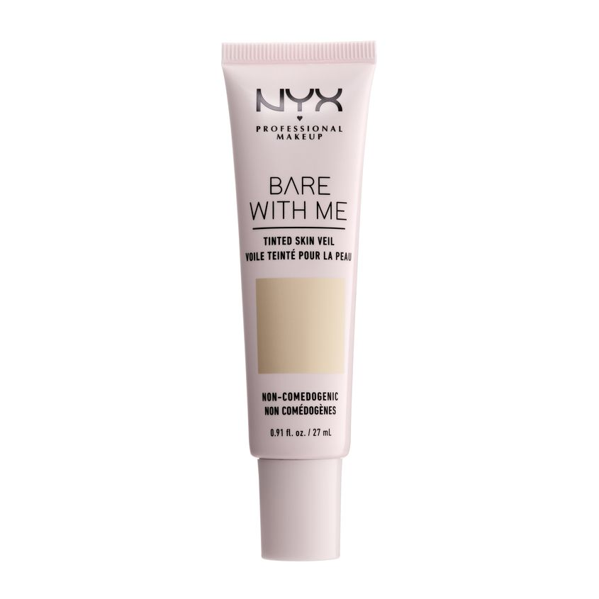 NYX Professional Makeup Тональная основа-вуаль для лица. BARE WITH ME TINTED SKIN VEIL фото