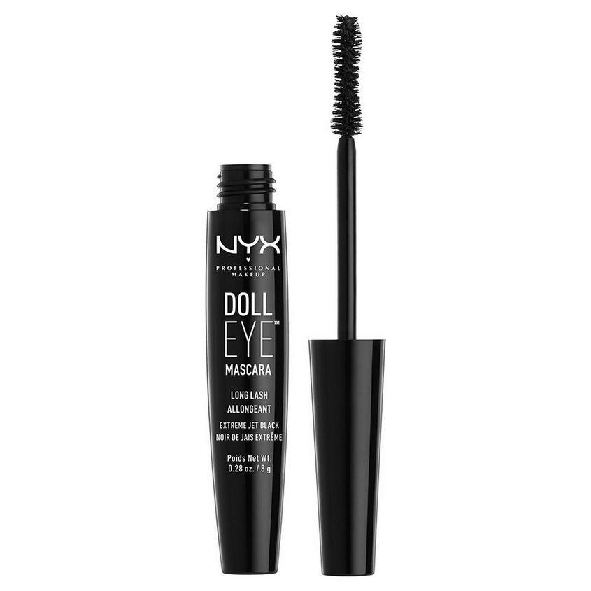 NYX Professional Makeup Влагостойкая тушь с эффектом накладных ресниц. DOLL EYE MASCARA LONG LASH