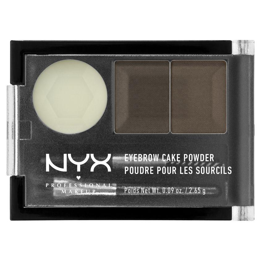 Купить NYX Professional Makeup Тени для бровей. EYEBROW CAKE POWDER